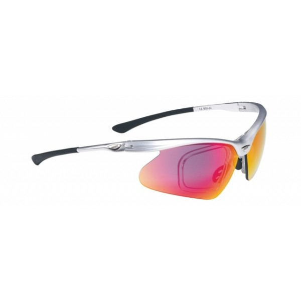 BBB BSG-33 sportbril OptiView zilver