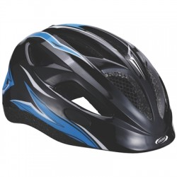 BBB BHE-48 Helm Hero Flash Racing M Zwart/blauw